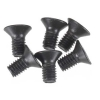 M3 x 0.5mm x 6mm Flat Head Screws (6)