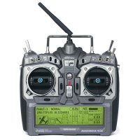 Aurora 9X 2.4GHz Transmitter (with Maxima 6 Receiver and NiMH Battery/Charger)