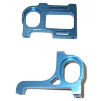 Associated Style Aluminum Pod Plates (pr) (Blue) Featured Photo