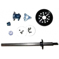 1/12th Associated Style Large D-Ring Axle Kit (Blue) - Graphite Featured Photo