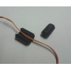 Ferrite Ring, Clip/clamp style, plastic jacket