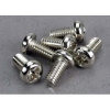 Screws,3x6mm Roundhead Machine (6)