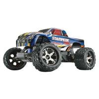 Stampede VXL Brushless RTR with Wireless-Enabled TQi 2.4GHz Radio and 7-Cell NiMH iD Battery